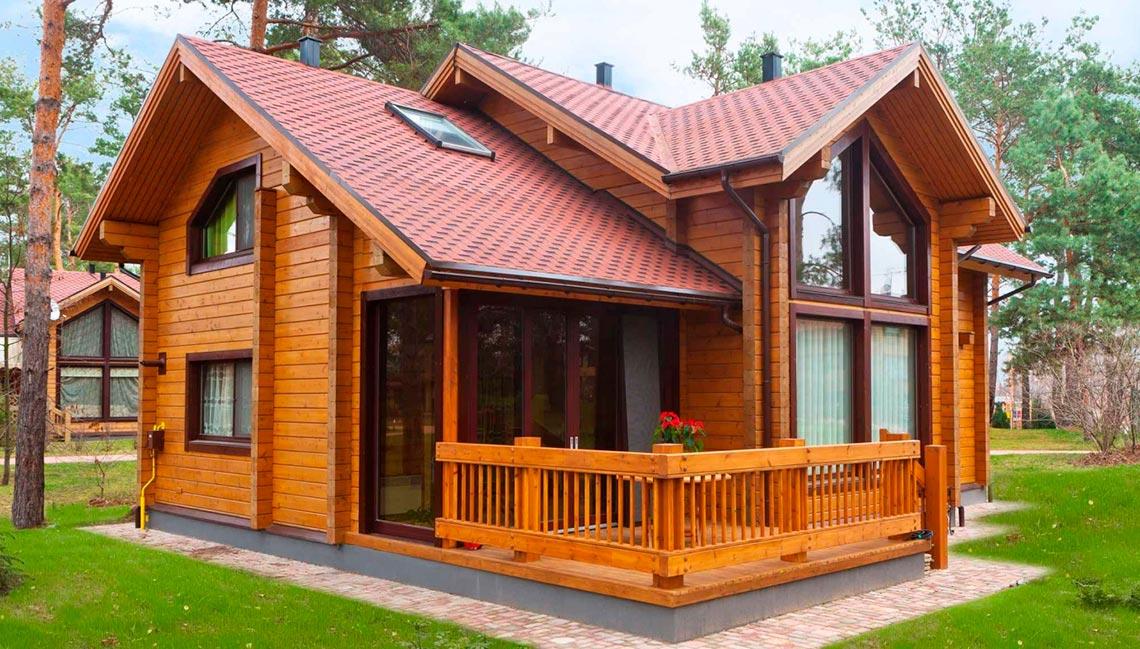Строительство деревянных домов под ключ в Крыму