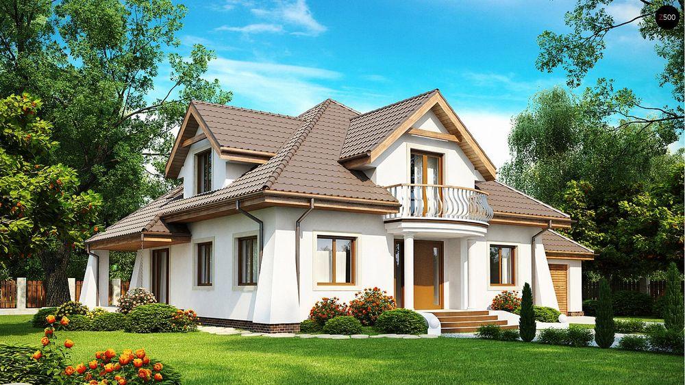 Строительство домов в Крыму под ключ - Проект Z109