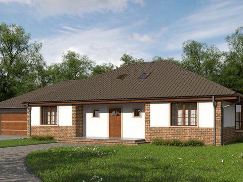 Строительство домов под ключ в Крыму - Проект Z10 GL2 stu
