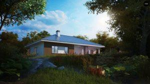 Строительство домов под ключ в Крыму - Проект Z176