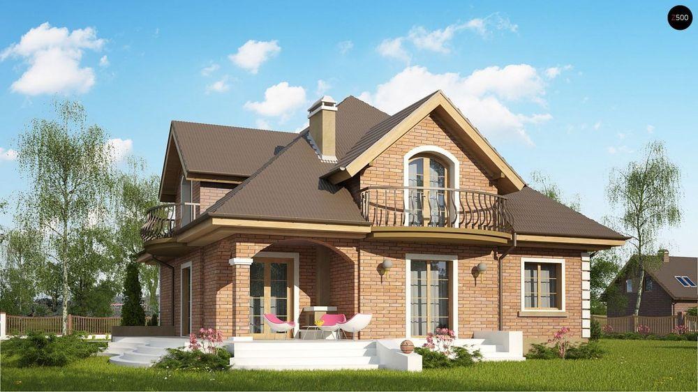 Строительство домов под ключ в Крыму - Проект Z18 k