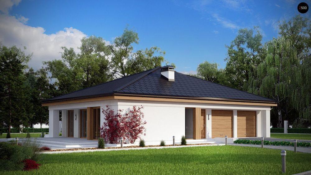 Строительство домов под ключ в Крыму - Проект Z196