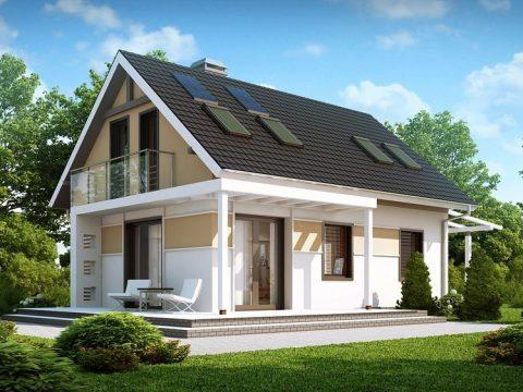 Строительство домов под ключ в Крыму - Проект Z216