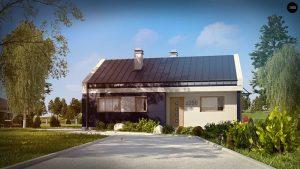 Строительство домов под ключ в Крыму - Проект Z256