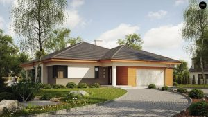 Строительство домов в Крыму под ключ - Проект Z281