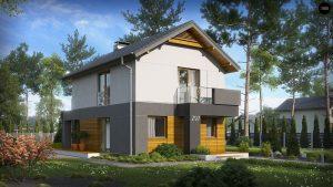 Строительство домов в Крыму под ключ - Проект Z297
