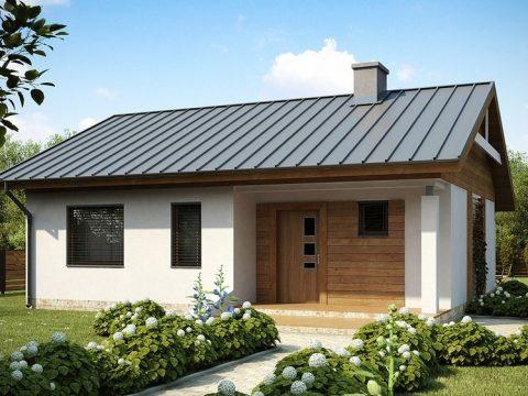 Строительство домов под ключ в Крыму - Проект Z78