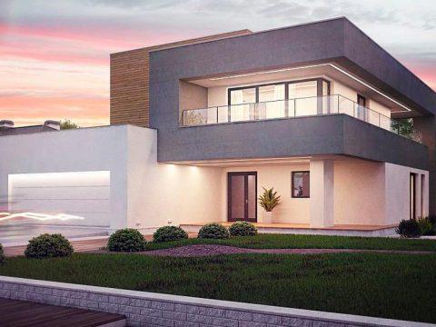 Строительство домов под ключ в Крыму - Проект Zx108