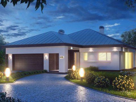 Строительство домов под ключ в Крыму - Проект Z200