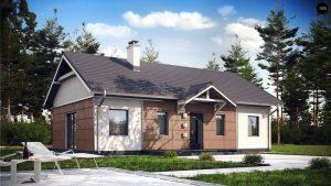 Строительство домов под ключ в Крыму - Проект Z241