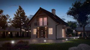 Строительство домов в Крыму под ключ - Проект Z264