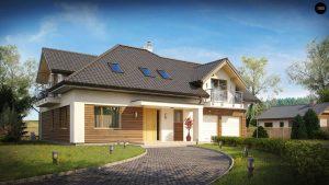 Строительство домов под ключ в Крыму - Проект Z272