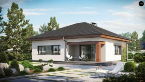Строительство домов под ключ в Крыму - Проект Z273