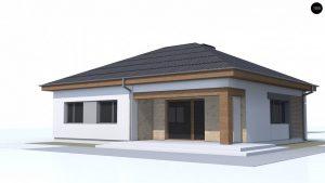 Строительство домов под ключ в Крыму - Проект Z273 a