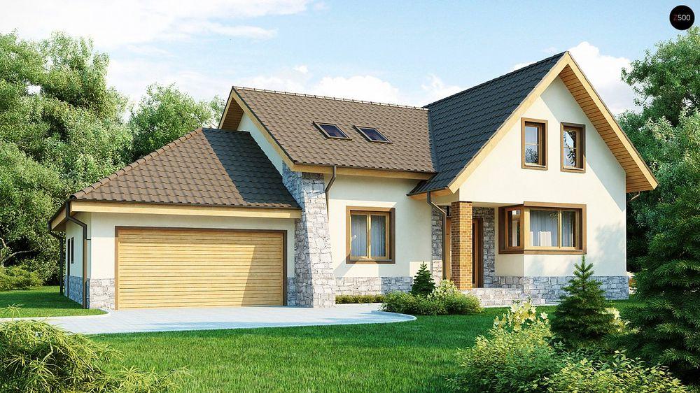 Строительство домов в Крыму под ключи - Проект Z31