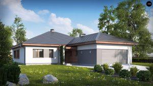 Строительство домов под ключ в Крыму - Проект Z52