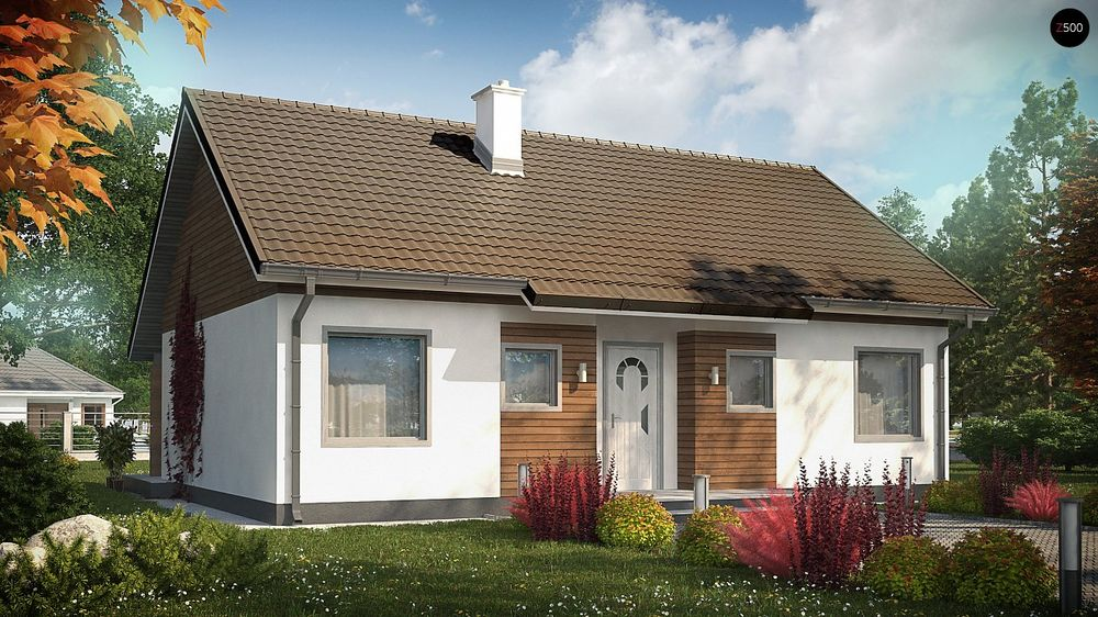 Строительство домов под ключ в Крыму - Проект Z7 35