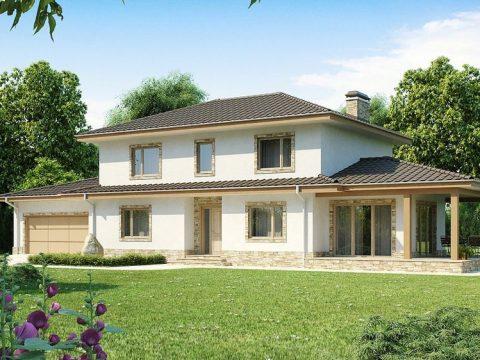 Строительство домов под ключ в Крыму - Проект Z74