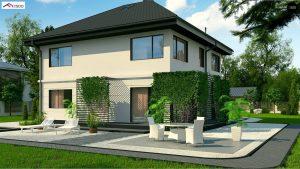 Строительство домов в Крыму под ключ - Проект Zx10