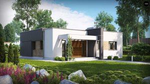 Строительство домов под ключ в Крыму - Проект Zx105