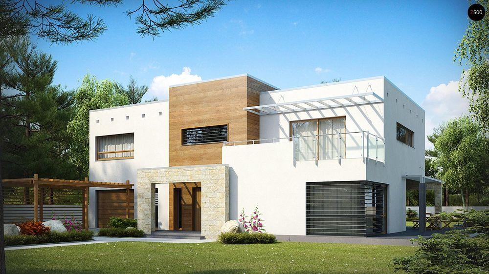 Строительство домов под ключ в Крыму - Проект Zx15