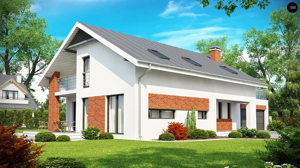 Строительство домов под ключ в Крыму - Проект Z161