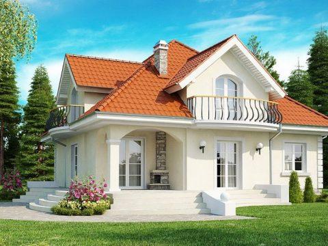 Строительство домов под ключ в Крыму - Проект Z18
