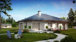 Строительство домов в Крыму под ключ - Проект Z207