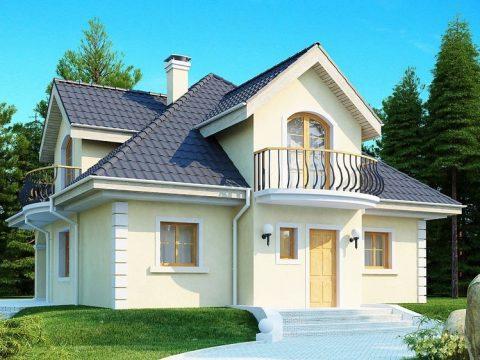 Строительство домов под ключ в Крыму - Проект Z27
