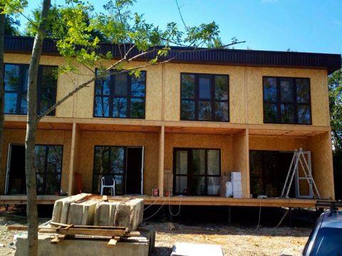Строительство домов в Крыму - Гостиница из СИП-панелей