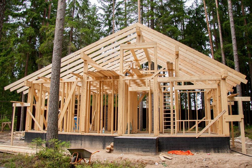 Строительство домов в Крыму - Чем привлекательно каркасное строительство 1