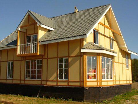Строительство домов в Крыму - Дом из СИП-панелей за несколько дней
