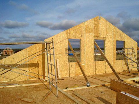 Строительство домов в Крыму - рекомендации по строительству домов из СИП-панелей