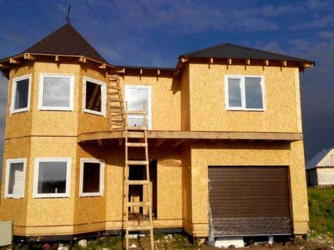Строительство домов в Крыму - Строим дом из СИП-панелей