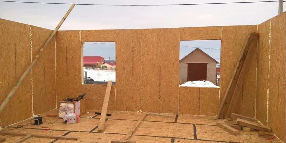 Строительство домов в Крыму - Плюсы и минусы строительства из СИП-панелей