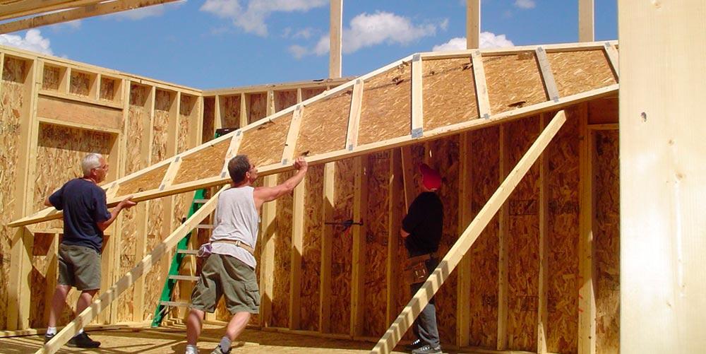 Строительство домов в Крыму - Строительство каркасного дома 2