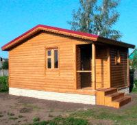 Строительство домов в Крыму - Бани из СИП-панелей2