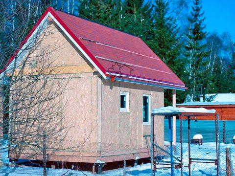 Строительство домов в Крыму - Бани из СИП-панелей