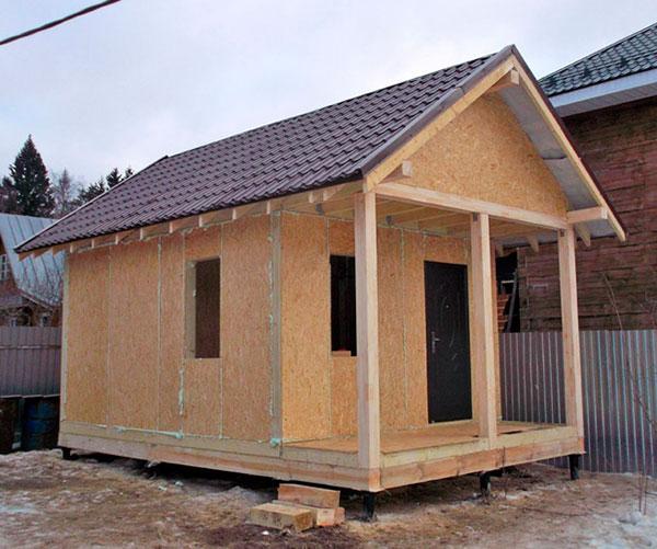Строительство домов в Крыму - Бани из СИП-панелей3