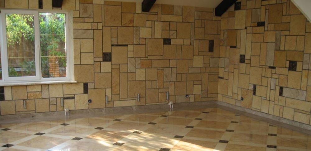Строительство домов в Крыму - Методы декорирование и покраски СИП панелей - Керамическая плитка