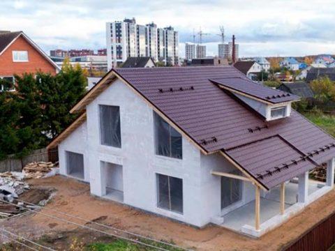 Строительство домов в Крыму - Этапы строительства дома из газобетона