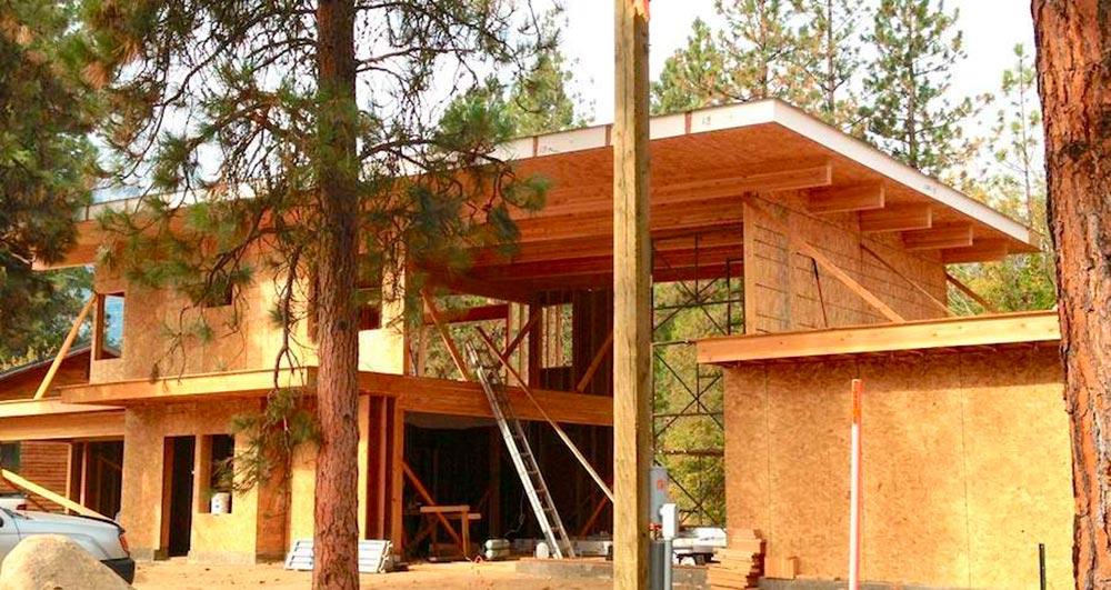 Строительство домов в Крыму - Достоинства домов с СИП-крышей
