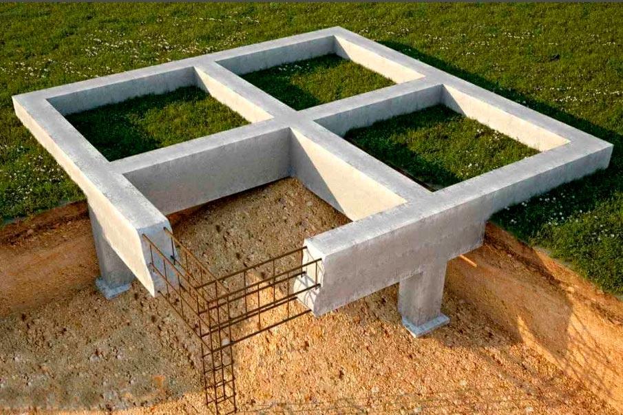 Строительство домов в Крыму - Преимущества ленточного фундамента