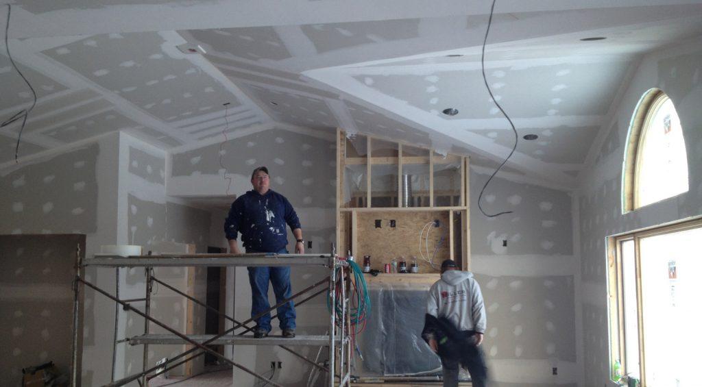 Строительство домов в Крыму - Отделка стен СИП-дома