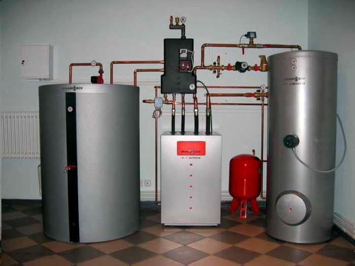 Строительство домов в Крыму - Способы отопления дома из СИП панелей 4