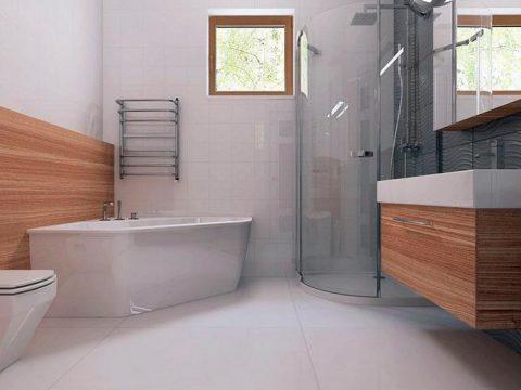 Строительство домов в Крыму - Ванная комната и санузел в домах из СИП панелей