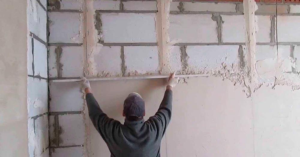 Строительство домов в Крыму - Внутренняя отделка дома из газобетона