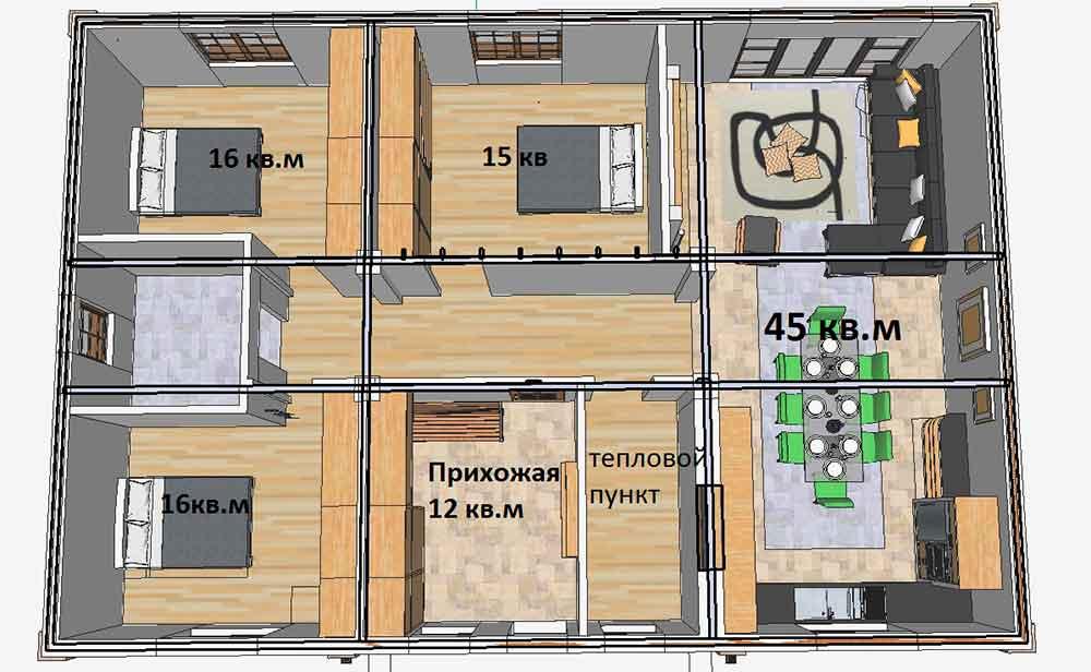 Строительство домов в Крыму - Проекты домов в Крыму