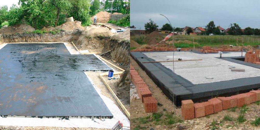 Строительство домов в Крыму - Плавающий фундамент