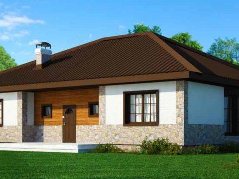Строительство домов в Крыму - Проекты 12 х 12